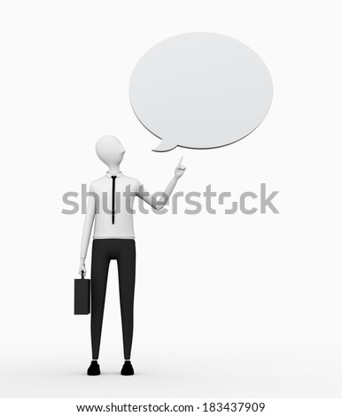 business information - stock photo