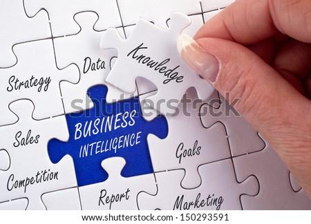 Business Intelligence - stock photo