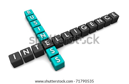 Business Intelligence for Decision Making as Art - stock photo