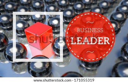 Business leader unique concept - stock photo
