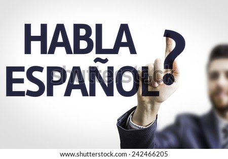 hablas español meaning