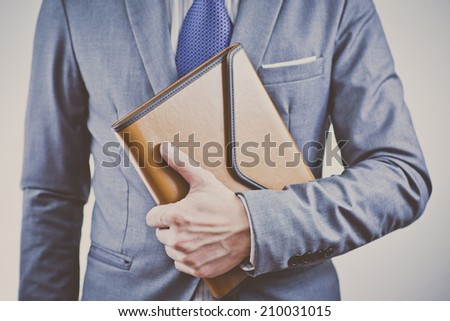 business man portrait - stock photo