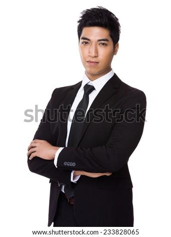 Business man portrait - stock photo