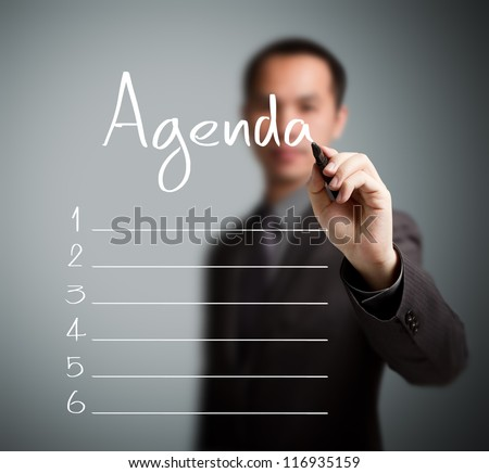Agenda Stock Images, Royalty-Free Images & Vectors | Shutterstock
