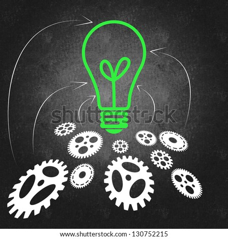 Business management and teamwork concept - stock photo