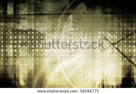 Business Management of Time and Schedule Concept - stock photo
