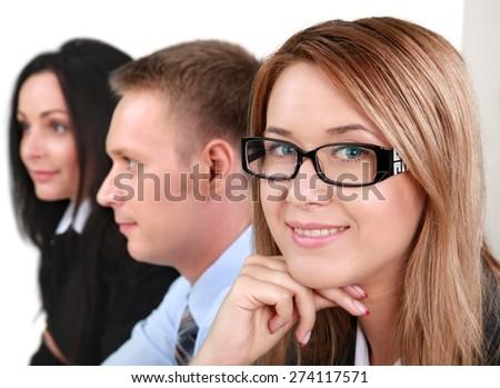 Business, Meeting, Businessman. - stock photo