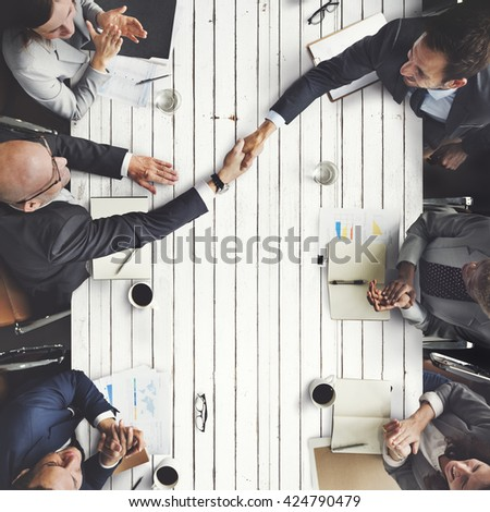 Business Meeting Team Brainstorming Corporate Concept