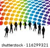 Business men and women 10 - stock photo