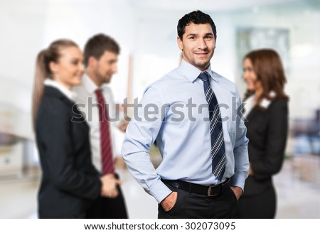 Business, Men, People. - stock photo
