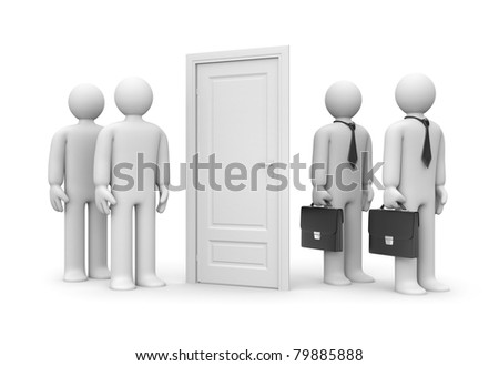 Business metaphor - stock photo