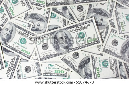 business money background - stock photo