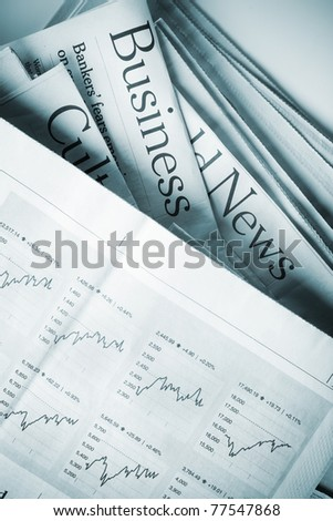 Business News - stock photo
