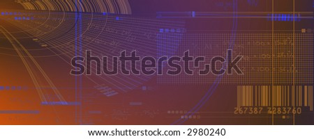 Business numbers and data. - stock photo
