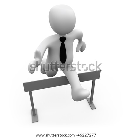 Business Obstacles - stock photo