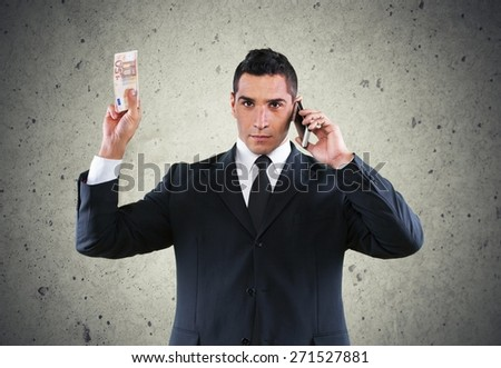 Business. Octopus in Business - stock photo