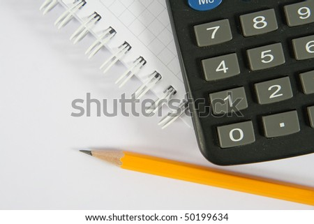 Business / office concept shot, closeup. - stock photo
