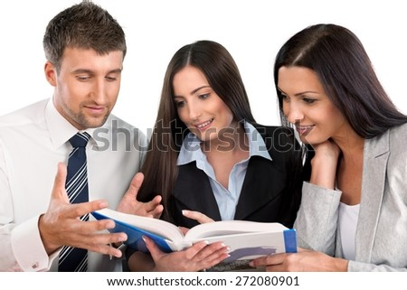 Business, Office, Meeting. - stock photo