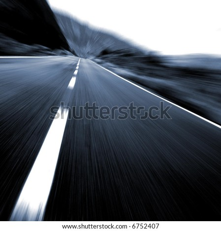 Business on track - stock photo