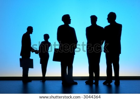 Business People-1 - stock photo