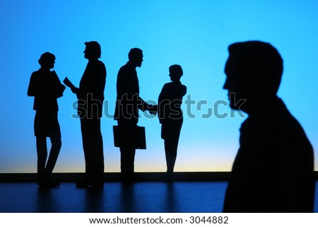 Business People-3 - stock photo