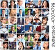 Business people. Business concepts. Teamwork - stock photo
