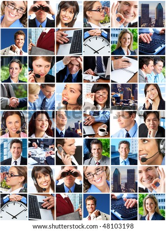 Business people. Business team. Teamwork - stock photo