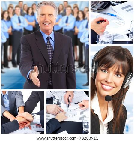 Business people. Business team. Teamwork. - stock photo