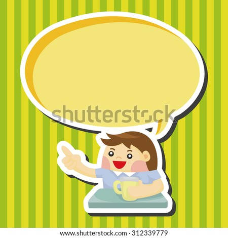 illustration person asleep bed dream bubbles stock