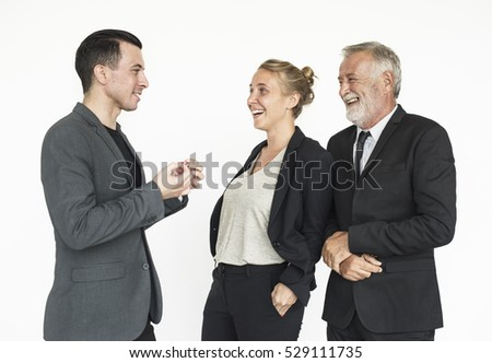 Business People Communicating Together Concept