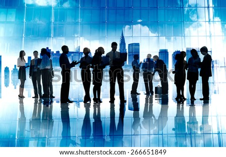 Business People Corporate Connection Discussion Meeting Concept - stock photo