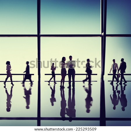 Business People Corporate Office Concept - stock photo