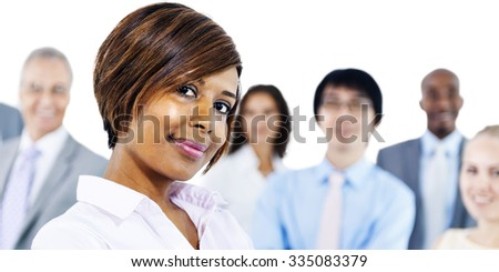 Business People Corporate Teamwork Togetherness Concept - stock photo