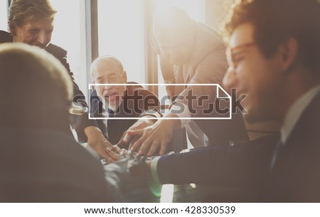 Business People Discussion Planning Analysis Concept - stock photo
