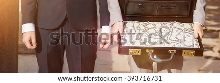 Business People Finance Investment Money Stress Concept - stock photo