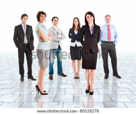 Business people group - stock photo