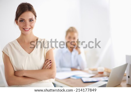 Business people Having Meeting  In Office - stock photo
