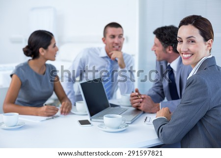 Business people having meeting in the office