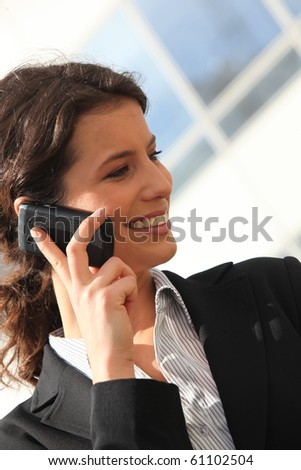 Business people on phone