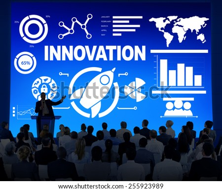 Business People Seminar Creativity Growth Success Innovation Concept - stock photo