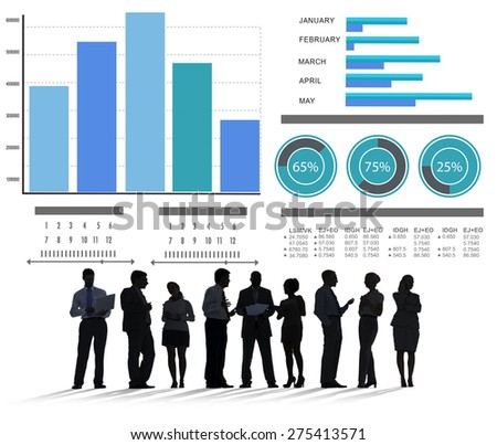 Business People Strategy Corporate Discussion Team Concept - stock photo