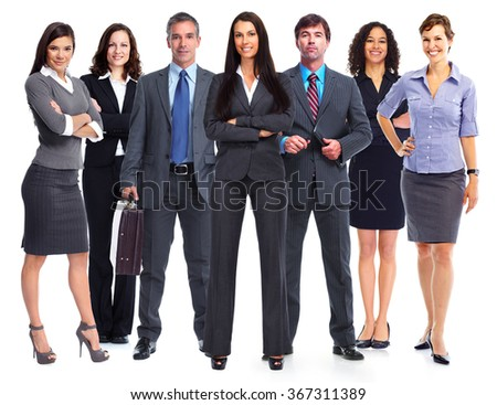 Business people team. - stock photo