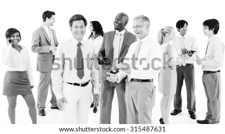 Business People Team Teamwork Cooperation Partnership Concept - stock photo