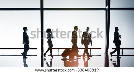 Business People Travel Office Concept - stock photo