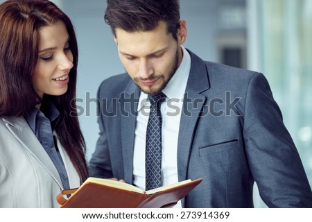 business people working with meetings scheduled - stock photo