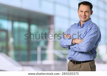 Business Person, Business, Professional Occupation. - stock photo