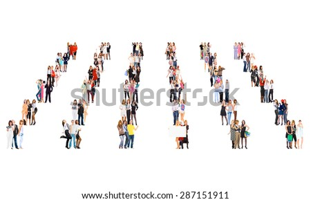 Business Picture Workforce Concept  - stock photo
