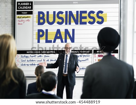 Business Plan Corporate Process Solution Concept