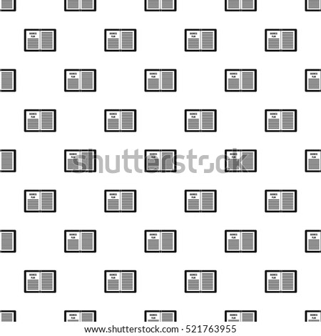 Business plan pattern. Simple illustration of business plan  pattern for web