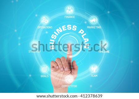 BUSINESS PLAN TECHNOLOGY COMMUNICATION TOUCHSCREEN FUTURISTIC CONCEPT